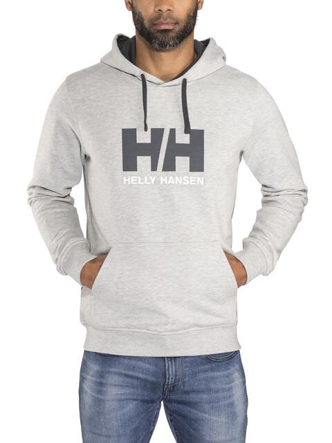 Helly Hansen Logo Miehet Välikerros , harmaa